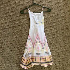 White Pattern Dress Size XS